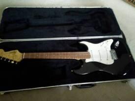 fender Squier se stratcaster guitar
