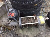 SuperWinch X6 12v winch RECOVERY