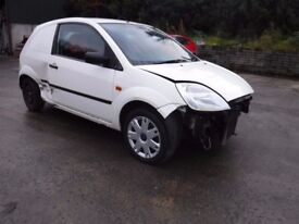 2005 Fiesta Van 1.4 TDCI *** damaged repairable ***