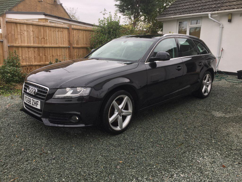 audi a4 b8 avant black manual b8 143bhp in bransgore dorset gumtree. Black Bedroom Furniture Sets. Home Design Ideas