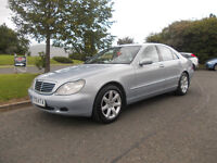 MERCEDES S320 CDI DIESEL TOP OF THE RANGE AUTOMATIC STUNNING FULL MOT BARGAIN 1950 *LOOK*PX/DELIVER