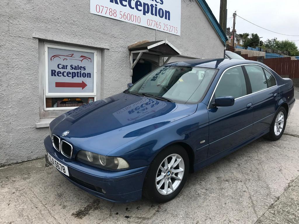 2002 BMW 525D SE AUTO SALOON DIESEL £1795!!