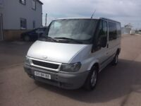 LEFT HAND DRIVE FORD TRANSIT, AC,DRIVES PERFECTLY,HUGE LOAD SPACE,ENGINE & MECHANICS,PAPER SORTED.
