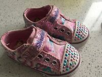 Sketchers baby Velcro shoes