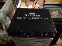 Focusrite Saffire Pro 14 - Excellent working condition