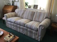 3 Seater Sofa 2 Seater Sofa & Armchair in Tiffany Stripe fabric