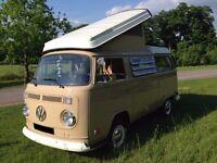 VW Camper Westfalia Volkswagen T2 Early Bay Window Westy 1972 Fully Restored