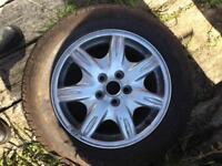 Alloy wheels tyres