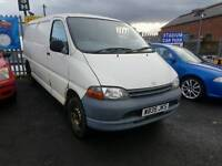 RE LISTED DUE TO TIMEWASTER---1999 TOYOTA HIACE LWB PANNEL VAN