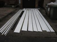( NOW REDUCED ) FASCIA SOFFIT & TRIM, ( NEW ) VERY CHEAP TO CLEAR.