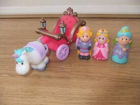 Happyland Enchanted Carriage Set (ELC)