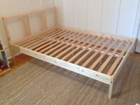 Bed, matress, 2 wardrobes 2 chest of draws and 2 tables