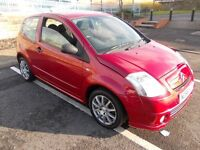 07-2006-CITREON C2 998CC-FULL MOT=£995.00 NEW TIMING BELT KIT AND WATER PUMP