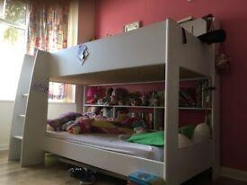 White bunk beds (parisot tam tam)