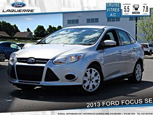 2013 Ford Focus SE**5 VITESSES*CRUISE*A/C**