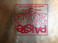 """Paiste 2002 Ride Cymbal 20"""" Immaculate"""