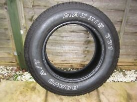 Maxxis 771 Bravo A/T 245/65 R17 nearly new