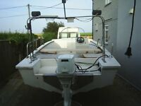 SEA/RIVER FISHING BOAT 17 FOOT BY 6.5 FOOT WIDE