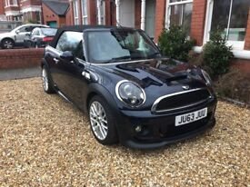 2013 (63 reg) Mini Cooper S Convertible with JCW bodykit, 31,000 miles