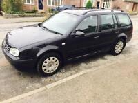 2006 VW Golf Estate 1.9 TDI..Diesel ...full year MOT..no Advisory 2 Owner FSH 11Stamp.. VGC £1250