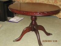 """John E Coyle cherry mahogany 30"""" coffee table"""