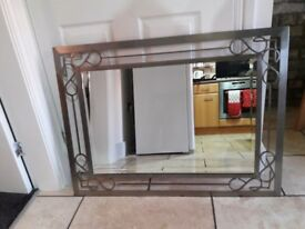 Large Wall Mounted Mirror