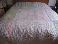 Brand New Hand Crocheted Bedspread. Approx 10ft x 10ft or 3m x 3m