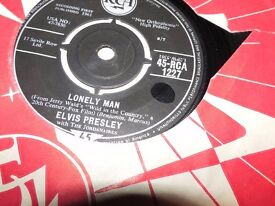 "7"" RCA 1272 ELVIS PRESLEY LONELY MAN / SURRENDER"