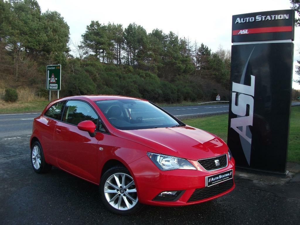 seat ibiza 1 4 toca 3dr red 2014 in elgin moray gumtree. Black Bedroom Furniture Sets. Home Design Ideas