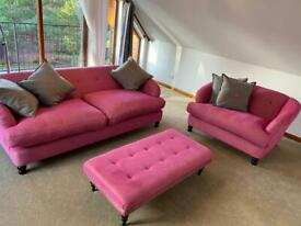 Beautiful pink suite