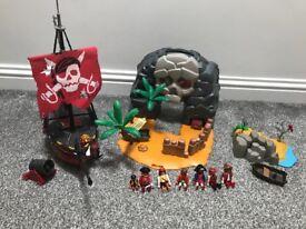 Playmobil pirates collection