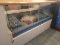 display counter fridge delivery available