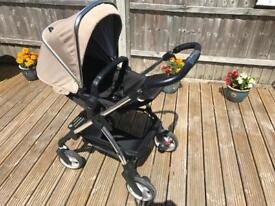 Silver cross Pram with changing bag