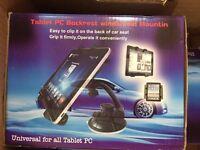 Tablet PC Backrest Windshield Mount Holder FOR IPAD Tab. NEW JOB LOT OF 29
