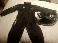 wulfsport helmet mx motocross suit rst