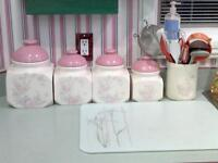BEAUTIFUL CERAMIC CANISTER SETS
