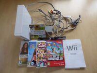 Console with Super Mario