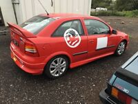 Astra Track Car, Red Top Engine, Roll Cage, With Log Book.