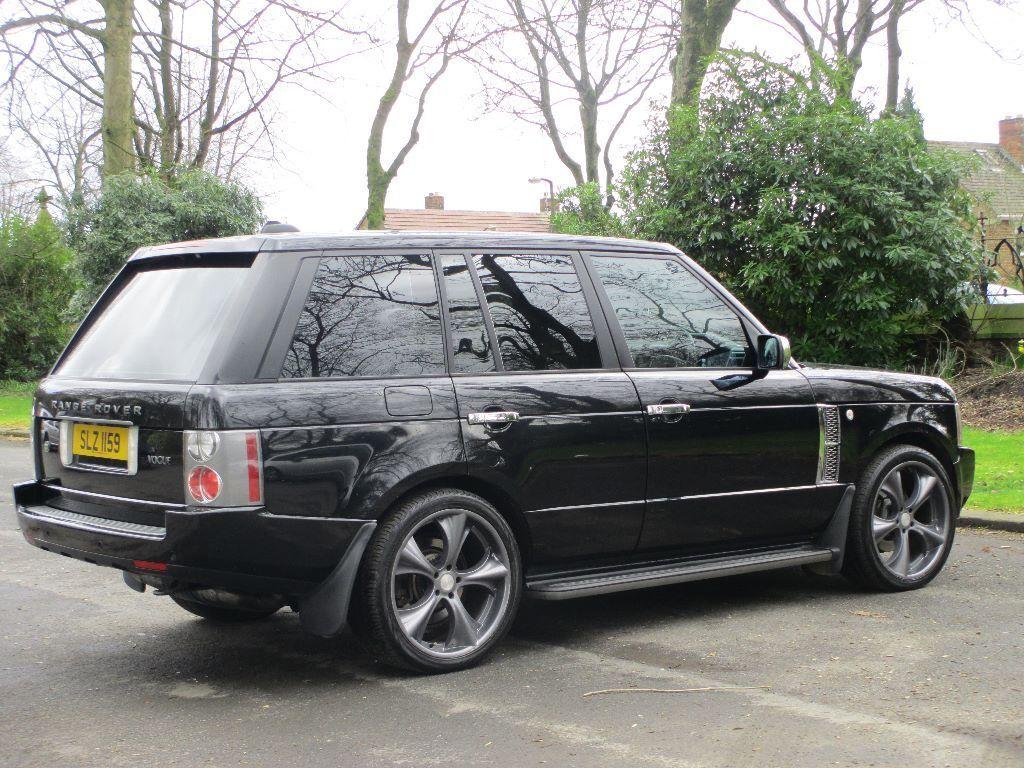 land rover range rover vogue 3 0 td6 2006 model auto. Black Bedroom Furniture Sets. Home Design Ideas