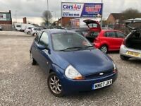 07 FORD KA ZETEC 1.3 PETROL IN BLUE *PX WELCOME* 12 MONTHS MOT £795