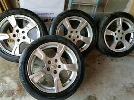 Sportline alloy wheels