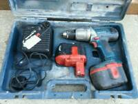 Bocsh cordless drill 24v untested can deliver!