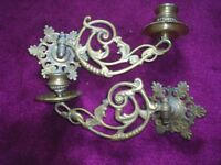 Hinged Candlestick Holders