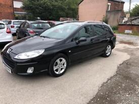 Peugeot 407 SW Automatic, Petrol, LOW MILEAGE, MINT, Quick Sale, Must Go £2695