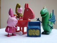 Princess Peppa Pig, Sir George And The Dragon Playset