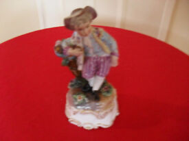 Meissen figure from the late 1700's early 1800's