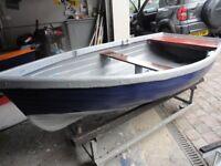 10 ft Clinker Style Fibreglass Boat Tender Punt