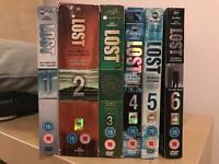 LOST all series DVDs