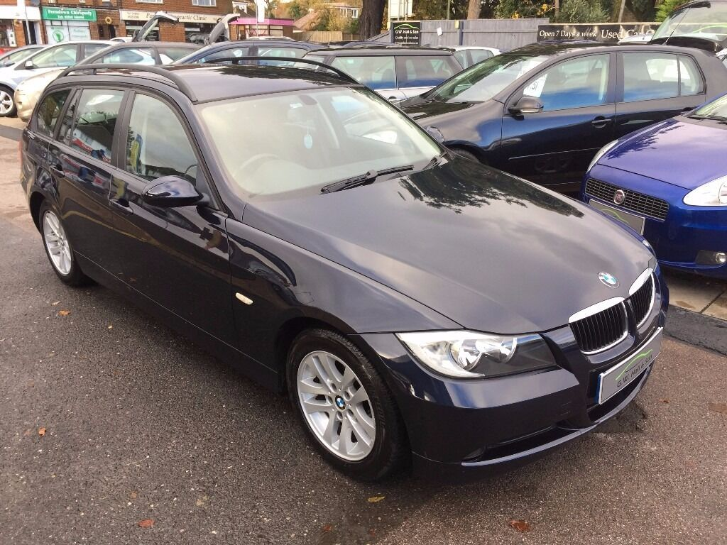 2006 56 bmw 318i se touring 5 door blue excellent condition looks and drives really well in. Black Bedroom Furniture Sets. Home Design Ideas