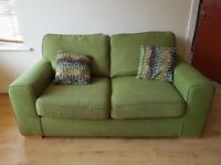 DFS sofa/couch set (1 is a sofa bed) all matching, cleaned 2 weeks ago, absolute bargain!.